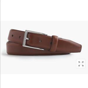 J.crew men's Italian leather dress belt